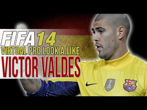FIFA 14 PS4 | VIRTUAL PRO LOOK A LIKES | VICTOR VALDES