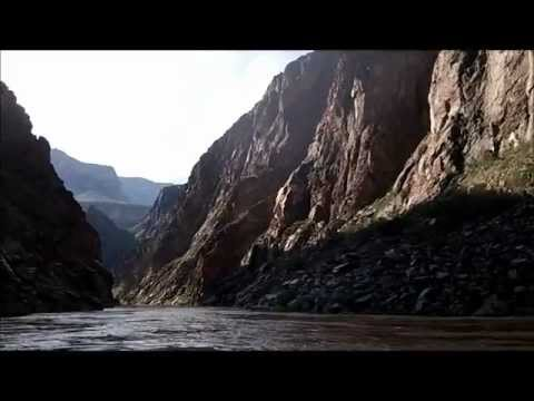 Camping Trip 2012, Part 19, Phantom Ranch, Colorado River Miles 89 to 100.wmv