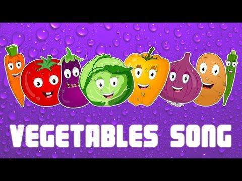 Vegetables We Love You | Vegetable Song