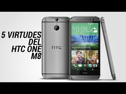 5 virtudes del HTC One M8