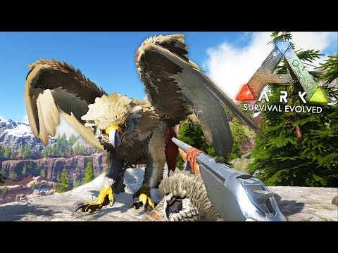 ARK: Survival Evolved - GRIFFIN TAMING!! (ARK Ragnarok Gameplay)
