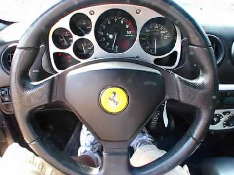 2004 Ferrari 360 Modena F1 Spider Start Up Exterior