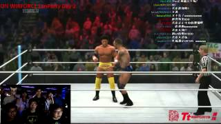 Wirforce Lanparty Taiwan 《WWE 2K14》老皮 VS 鐵蛋 (橘大現場轉播)