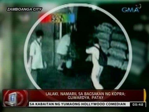 24 Oras: Pamamaril ng isang lalaki sa Zamboanga City, na-huli cam