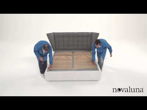 Novaluna | Montaggio letto | Assembly instructions