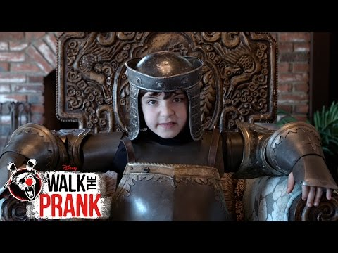 Arise Sir Babysitter | Walk the Prank | Disney XD