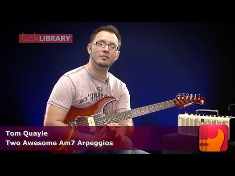Lesson Guitar - Arpeggio Lesson 1