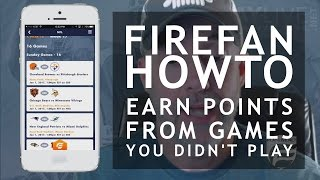 FIREFAN QUICK HOWTO - Earn Points from Games You Dont Even Play