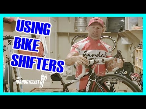 How to Use Shimano Road Bike Shift & Brake Levers