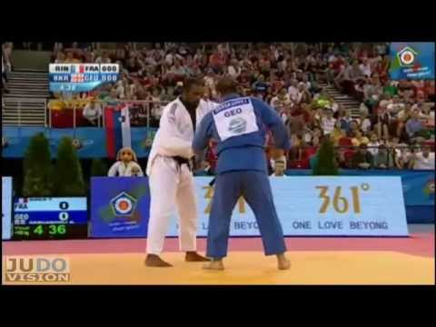 Judo European Championships 2013: Teddy RINER (FRA) - Adam OKRUASHVILI (GEO) Final [+100kg]