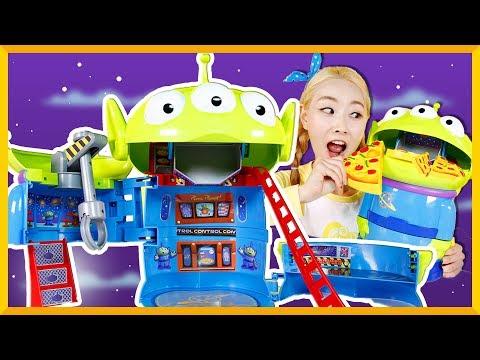 玩具總動員外星人披薩店 | 愛麗和故事 EllieAndStory