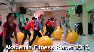 Warsztaty Fit Ball 20.04. 2013 - Akademia Fitness Planet