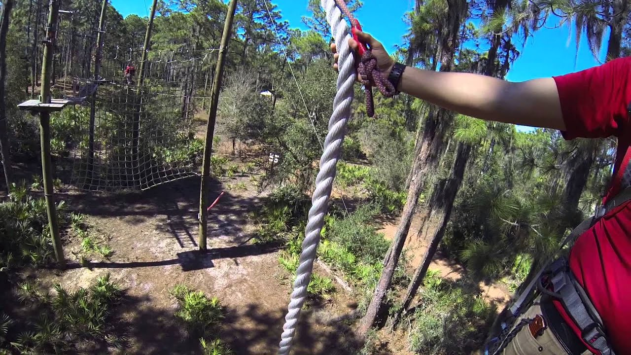 Treeumph Outdoor Adventure Course In Lakewood Ranch