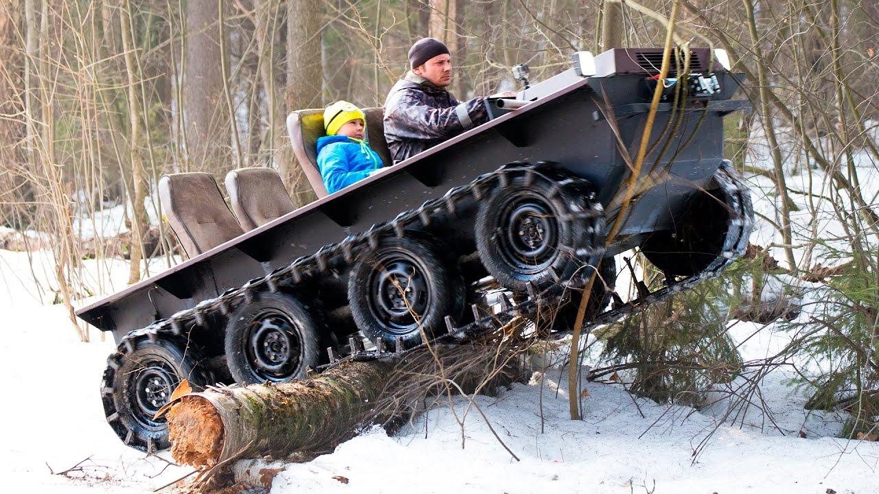 Самоделки вездеходы снегоходы болотоходы своими руками 60