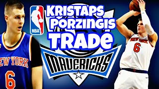 Kristaps Pozingris traded to Dallas Mavericks #NBA #NBATRADE