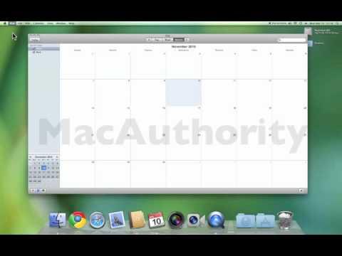 Mac 101 - iCal Syncing