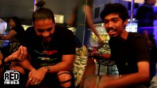 Raftaar freestyle Rapping with Rj Praveen