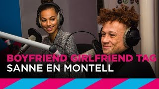 Montell en Sanne doen Boyfriend / Girlfriend Tag | SLAM!