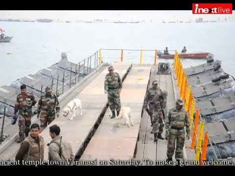 Varanasi: Preparations to welcome PM Narendra Modi with Shinzo Abe