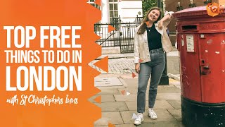 TOP FREE THINGS TO DO IN LONDON   Sky Garden, Changing of the Guard, Museums & more!
