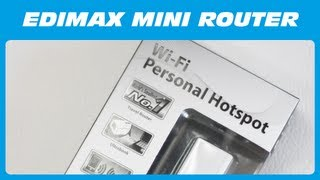 Edimax Mini Router BR-6258nL Unboxing & Kurzreview