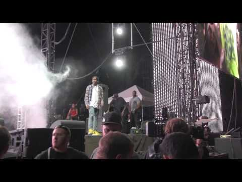 A$AP MOB - GOLDIE TRAP LORD @ HARD SUMMER 2014 - 8.2.2014