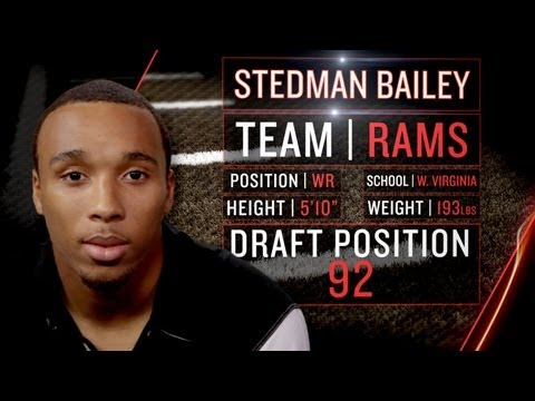 Rams Rookie Stedman Bailey on NFC West, St. Louis' New-Look Offense (2013 NFLPA Rookie Premiere)