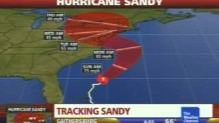 The Weather Channel - Hurricane Sandy coverage - October 27, 2012 05