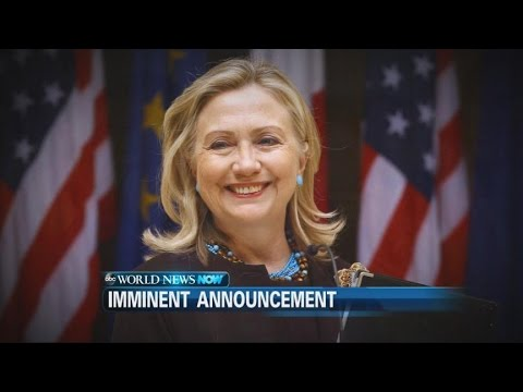 Hillary Clinton Expected to Announce White House Run
