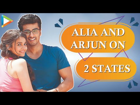 Alia Bhatt Arjun Kapoor Fun Interview On 2 States Part 1