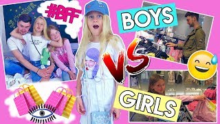BOYS vs GIRLS 😵 BFF OUTFIT SHOPPING CHALLENGE 👕 MaVie