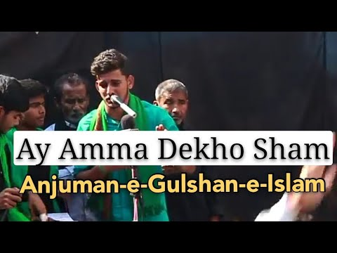"Arbaeen-e-Hussaini ""72 Taboot"" Julus-e-Aza Saraimeer Azamgarh 1 Nov 2018 ""Matamdari In Market"""