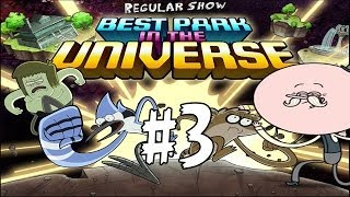 Best Park In The Universe - Regular Show - The Park Level 3 - Walkthrough (Pops & Mordecai) HD