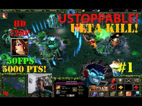 ★DoTa 6.83d Lina Inverse, Slayer - GamePlay | Guide★ Unstoppable, Ultra kill!! ★ #1