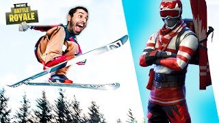 *NEW* RARE ALPINE ACE Skin Back In Item Shop + Fortnite Playing With Subs (Fortnite Gameplay)