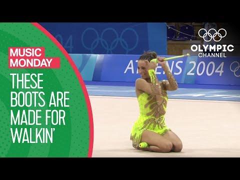 Rhythmic Gymnastics: Cid's boots are made for walkin' | Music Mondays