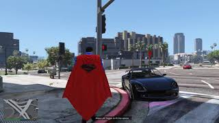 GTA 5 day of Superman