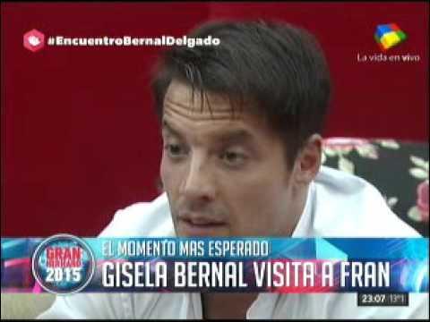#GH2015: Gisela Bernal ingresó a La Casa y habló de todo con Francisco