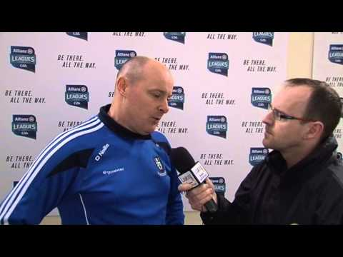 AFL Div 1 Semi Final v Dublin Post Match Interview