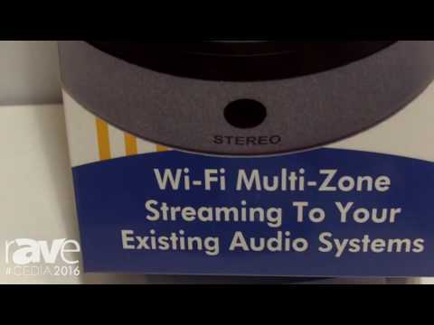 CEDIA 2016: MainStream Audio Shows Solo Wi-Fi Streaming Product for Existing Audio Systems