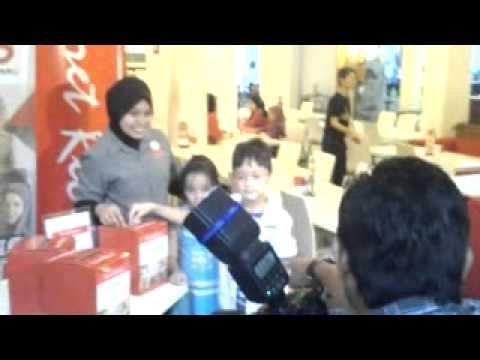 Muhammad and Aisyah as models for Secret Recipe & OKB's Donation for Gaza