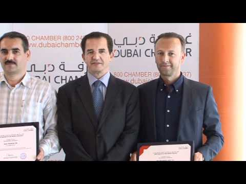 Dubai Chamber honours top exporting SME of the month