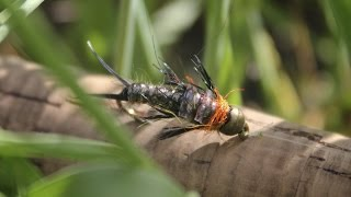 Rowley Stone - #1 Stonefly Pattern - Fly Tying Video