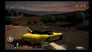 Gran Turismo 3 EPIC RACE! Hilarious Spins on Stars and Stripes! Cobras and Corvette Spins!
