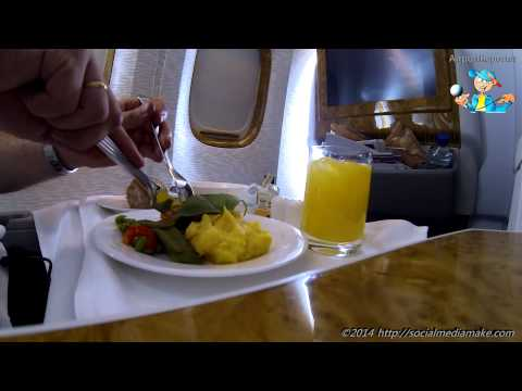 Flying Business Class with Emirates | Aboard Entire Flight |