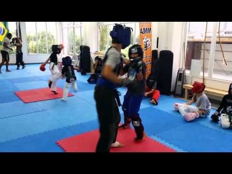 No Where to Run Kickboxing Drills at Yudansha MMA Top Team Japan Image 1