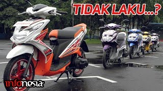 """GA LAKU...? Inilah 5 Motor Matic Yang """"Gagal"""" dipasaran Indonesia"""