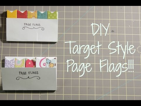 DIY: How To Make  Page Flags