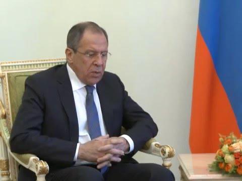 С.Лавров и С.Саргсян | Sergey Lavrov & Serj Sargsyan
