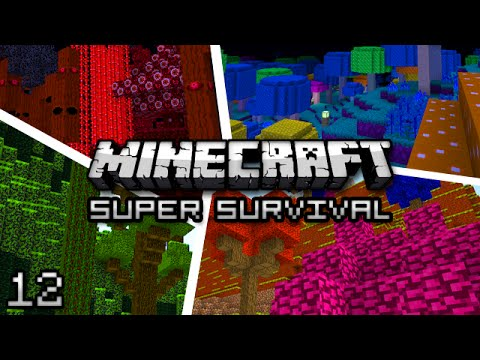 Minecraft: Super Modded Survival Ep. 12 - VOID DUNGEON
